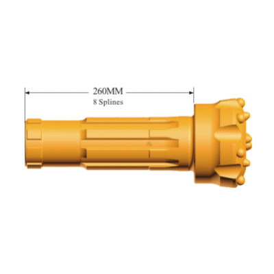Down the hole drilling tool, dth bits for GD55A hammer